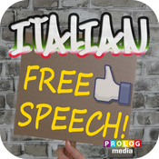 ITALIAN - free speech! | PROLOG (ITALIAN for English speakers)
